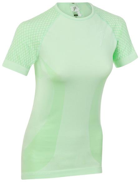 Купить Футболка беговая Bjorn Daehlie T-Shirt ROLLER Women Patina Green (св.зеленый) Одежда для бега и фитнеса 1022699
