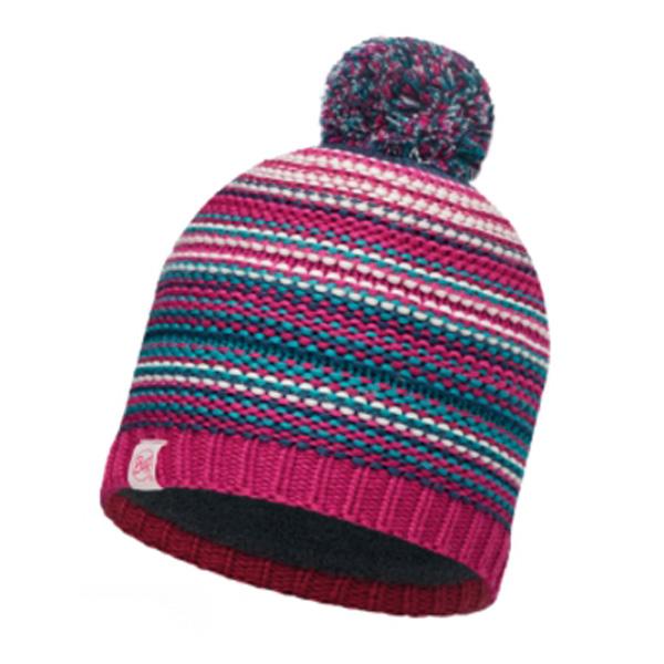 Шапка Buff Junior Knitted & Polar Hat Buff Amity Pink Cerisse