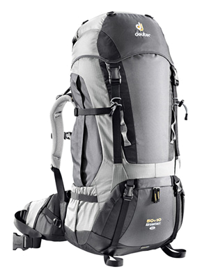 Рюкзак Deuter 2011 Aircontact 50 + 10 SL anthracite-silver