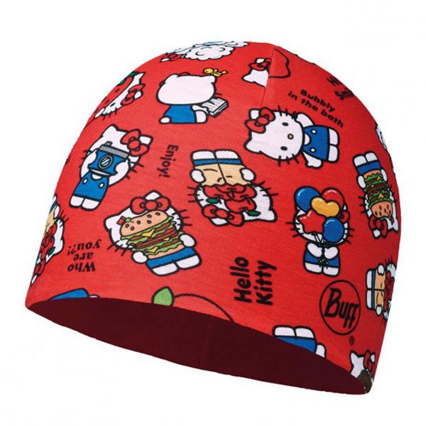 Купить Шапка BUFF Licenses HELLO KITTY JR MICROFIBER POLAR HAT FOODIE RED, Детская одежда, 1263966