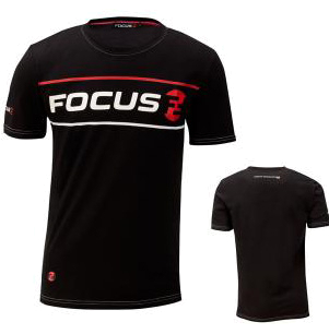 Футболка FOCUS 2014 CASUAL WEAR RETRO TEE Black/White