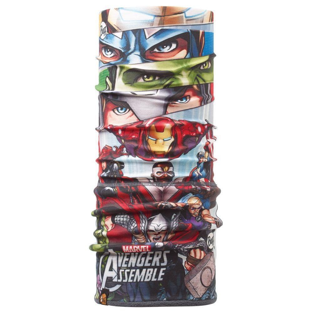 Бандана BUFF SUPERHEROES JR POLAR ASS EMBLE JR/GREY Детская одежда 1169115  - купить со скидкой