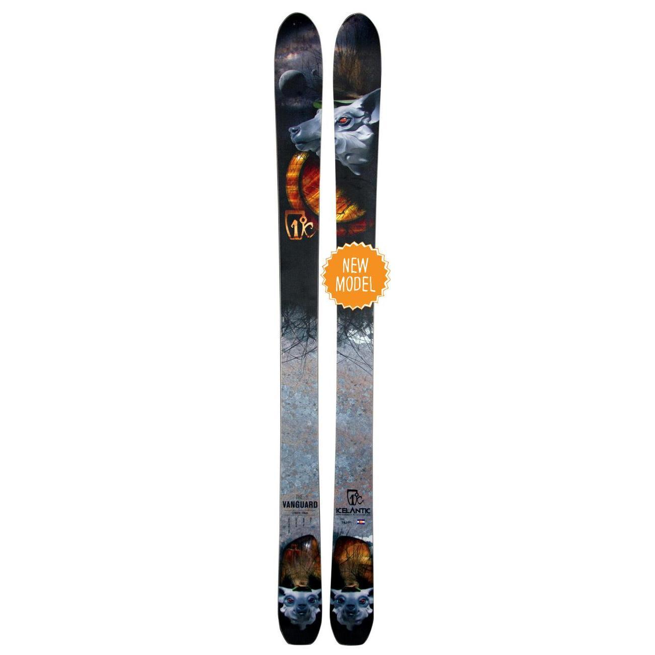 Купить Горные лыжи ICELANTIC 2014-15 VANGUARD, лыжи, 1138718