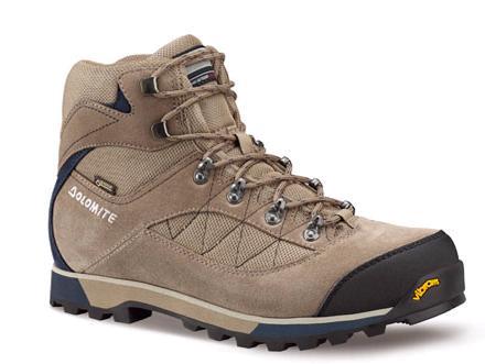 Купить Ботинки для хайкинга (высокие) Dolomite 2017-18 Zernez Gtx Walnut/Night Blue Треккинговая обувь 1328387