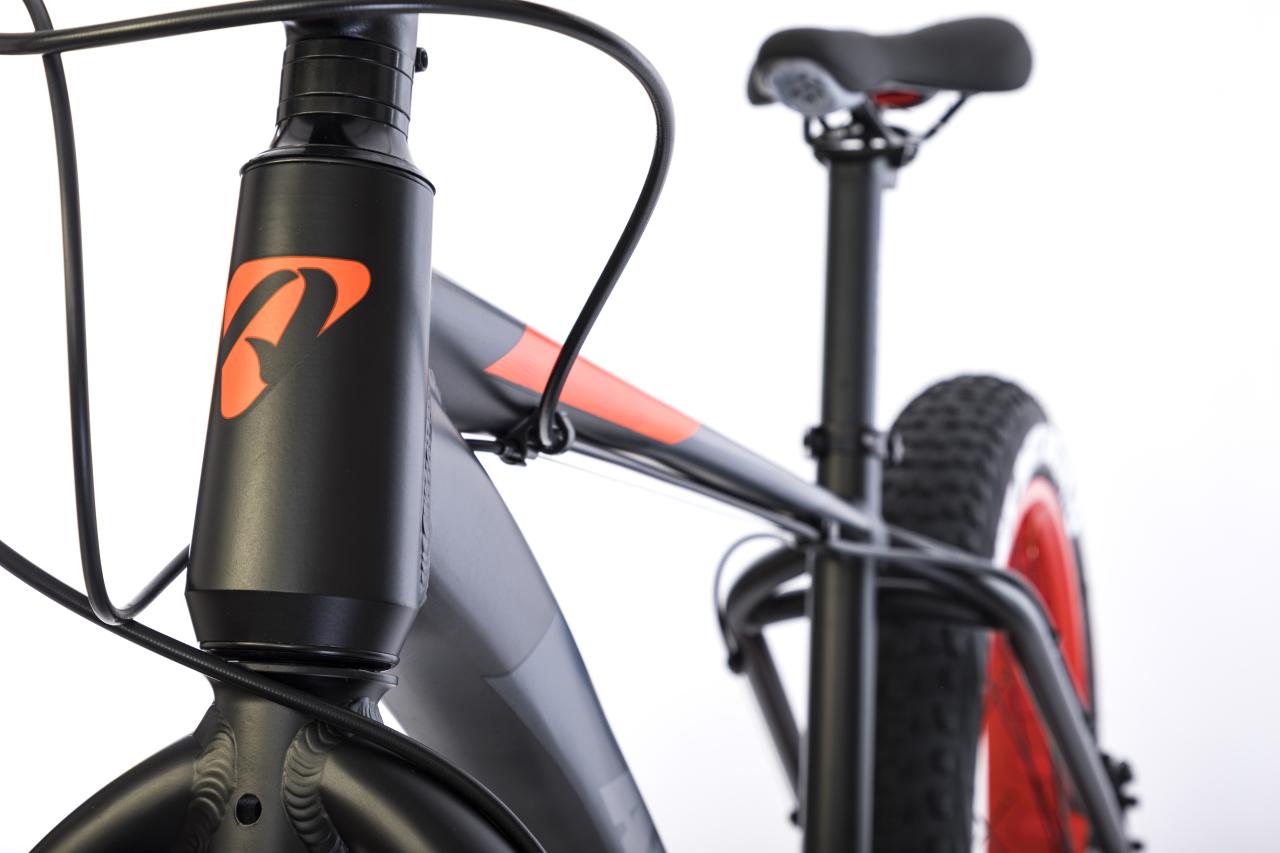 Велосипед Aspect Discovery 2018 Черно-Оранж.