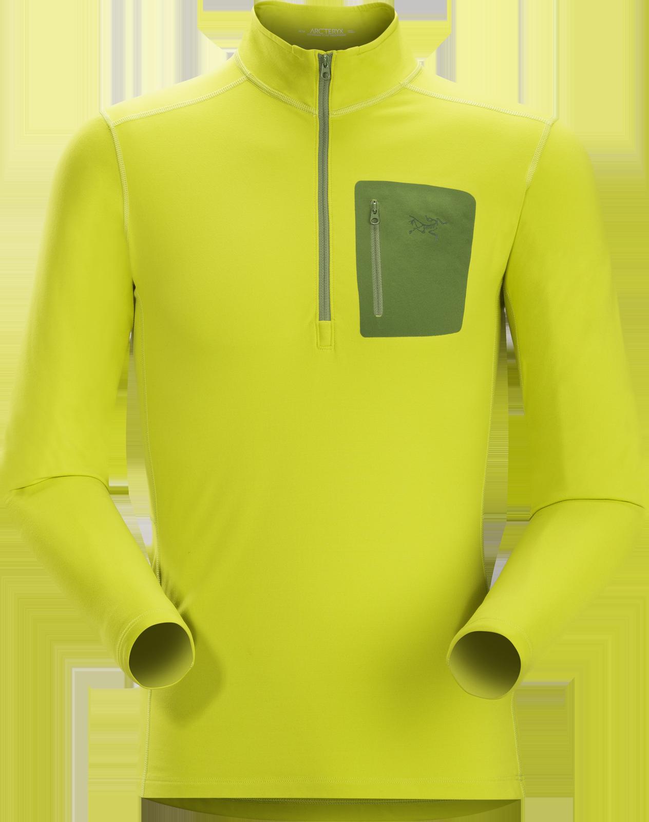 мужская футболка arcteryx, желтая