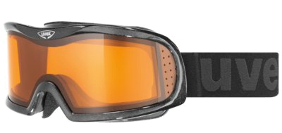 Очки горнолыжные UVEX Vision Optic L Black Metallic Shiny