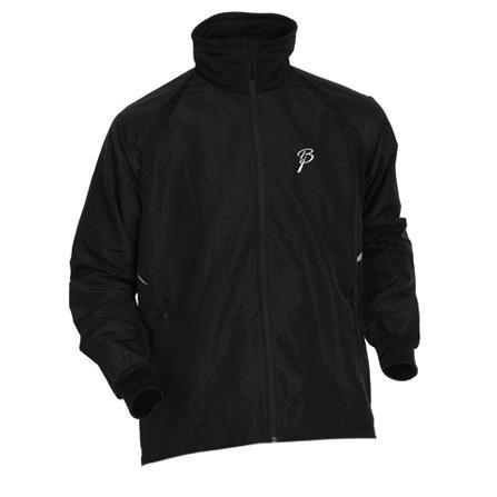Купить Куртка беговая Bjorn Daehlie Jacket FIGHTER (Black/Silver) черный/серый Одежда лыжная 709660