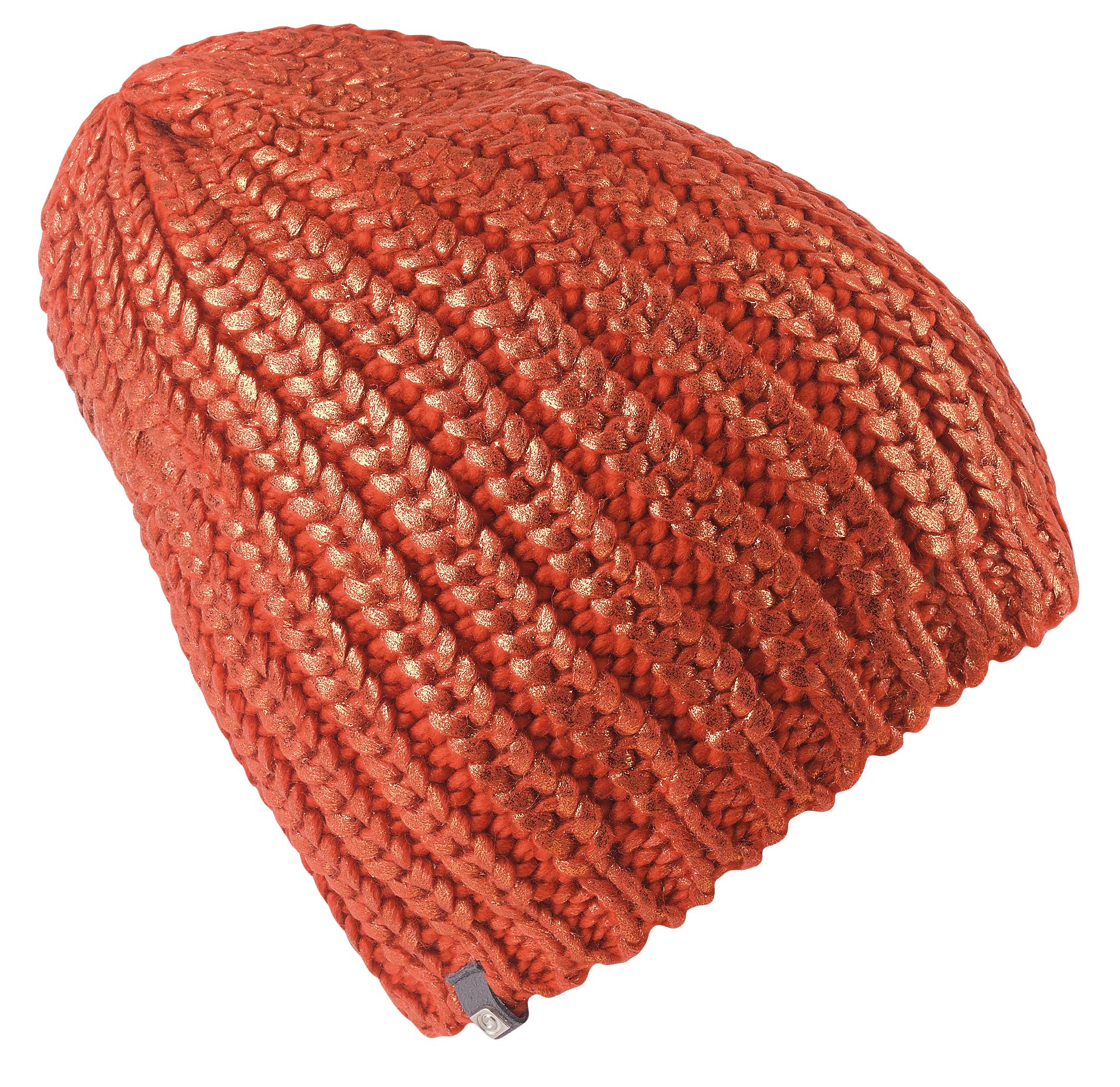 женская шапка brekka, оранжевая