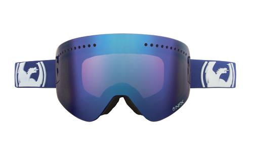 Купить Очки горнолыжные DRAGON NFX Solid Navy (Blue Steel) 910508