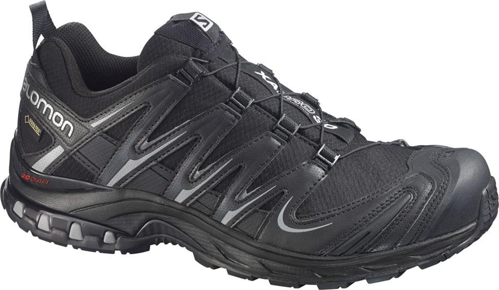 db91057f Беговые кроссовки для XC SALOMON XA PRO 3D GTX BLACK/BLACK/PTR - купить в  КАНТе