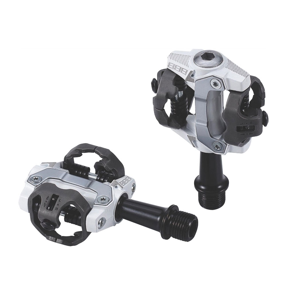 Педали Bbb Clipless Forcemount Crmo Axle White