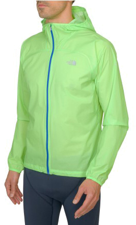 Куртка туристическая THE NORTH FACE 2014 ENDURANCE RUNNING M FETR LITE BLK JKT POWER GREEN зеленый