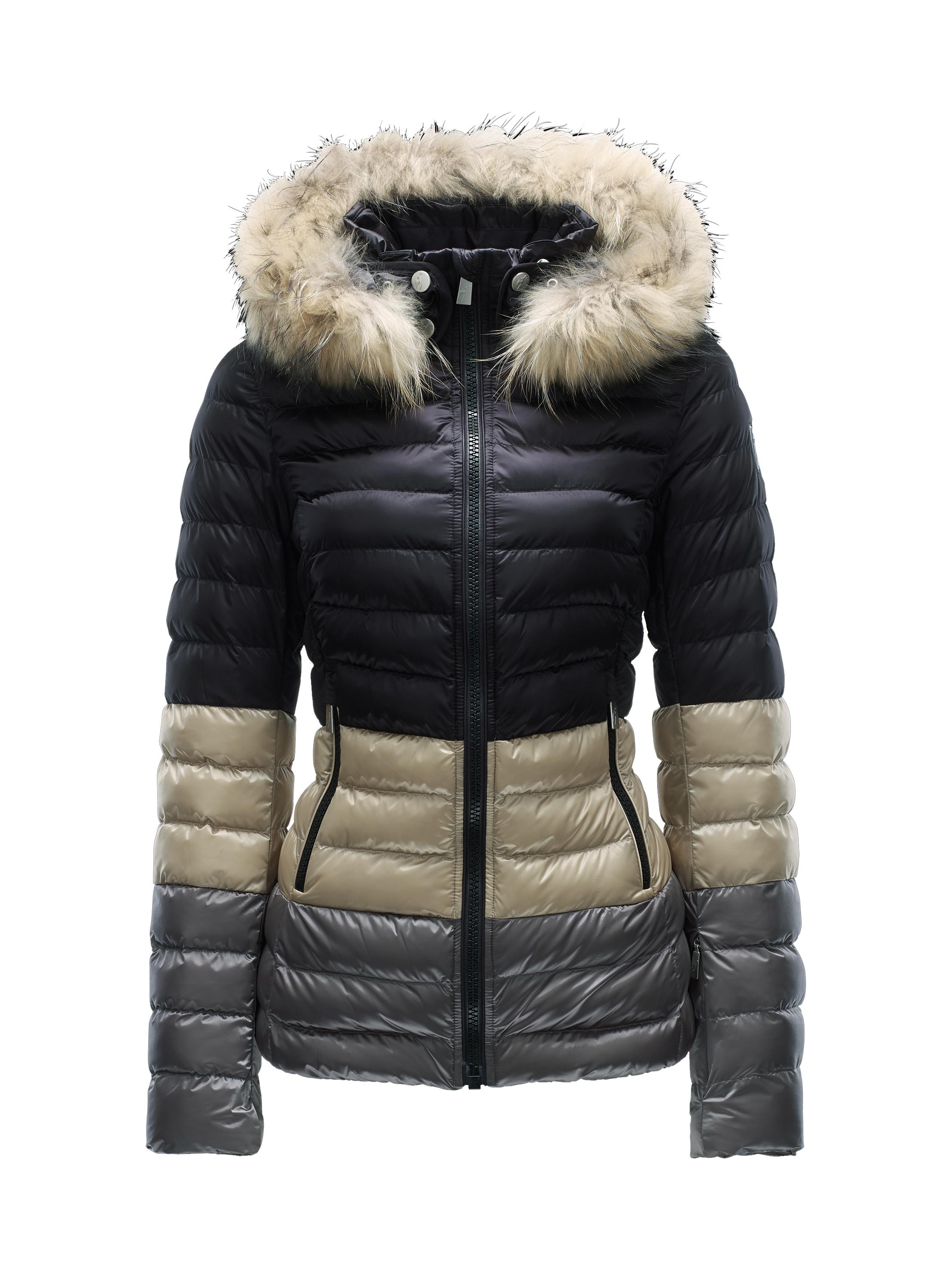 Купить Куртка горнолыжная TONI SAILER 2015-16 MARGOT SPLENDID FUR light sand Одежда 1217674