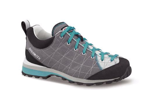 Купить Ботинки для хайкинга (высокие) Dolomite 2017-18 Diagonal Lite Steel Grey/Silver Треккинговая обувь 1331792