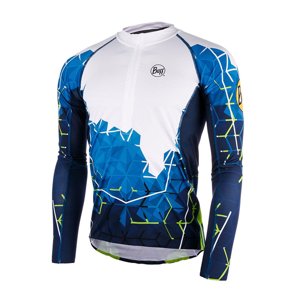Толстовка беговая BUFF ATEN L/S T-SHIRT OCEAN BLUE Банданы и шарфы Buff ® 1338323  - купить со скидкой