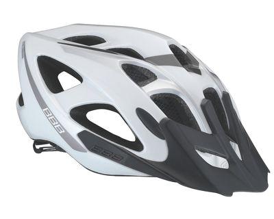 Летний Шлем Bbb Elbrus With Visor White Silver
