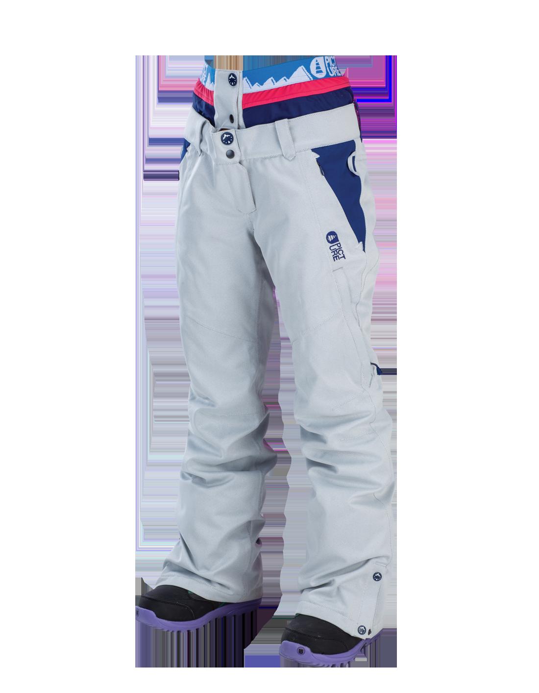 Купить Брюки сноубордические Picture Organic 2015-16 COOLER Dark Blue White Stripe, Одежда сноубордическая, 1219648