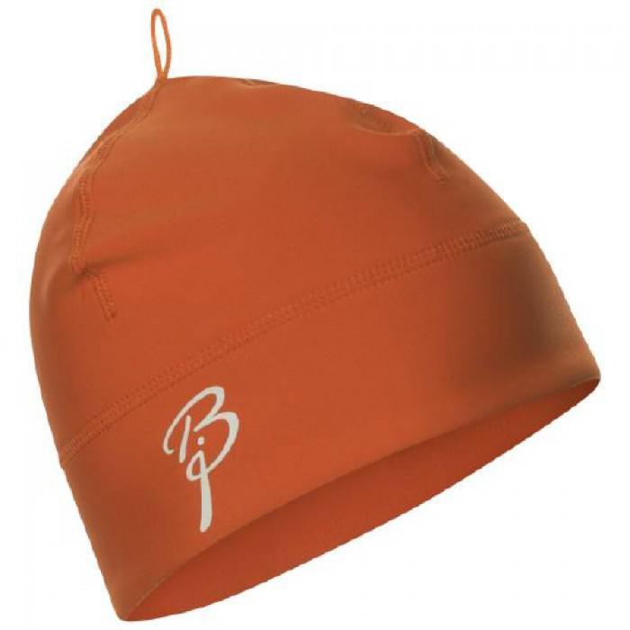 женская шапка bjorn daehlie, оранжевая