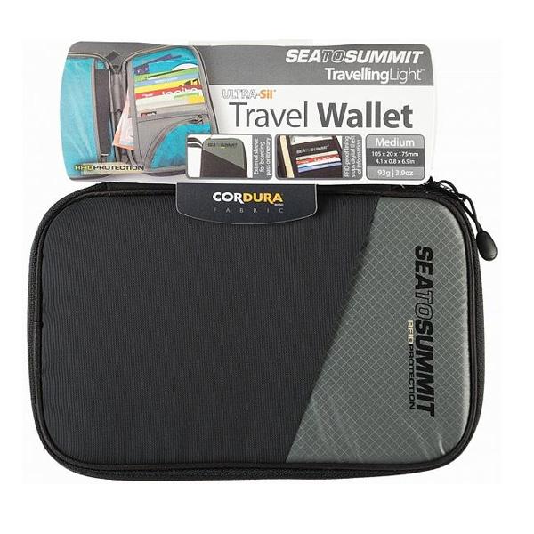 Кошелек Seatosummit Travel Wallet Rfid Small Black Black