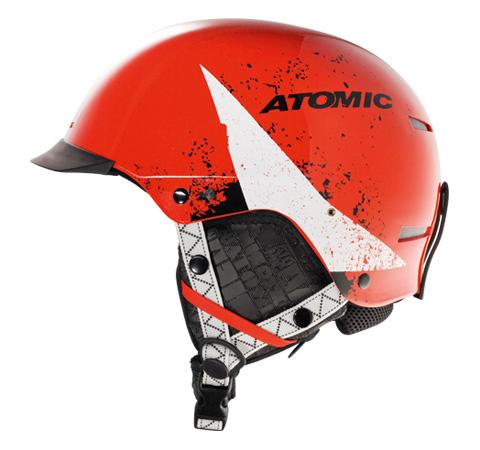 Купить Зимний Шлем Atomic Race TROOP SL Red Шлемы для горных лыж/сноубордов 1078049