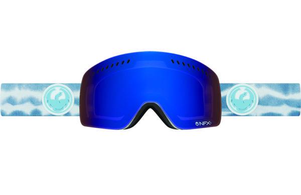 Купить Очки горнолыжные DRAGON 2016-17 NFXs Onus Blue / Dark Smoke Blue, горнолыжные, 1299435