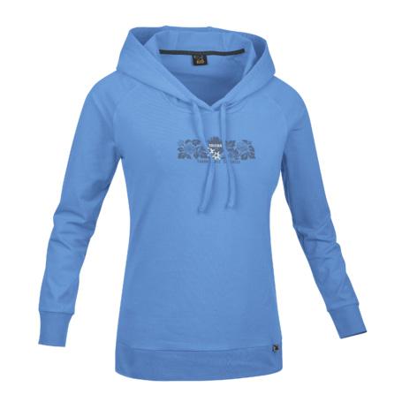 Купить Толстовка для активного отдыха Salewa ALPINE LIFE ALPINDONNA INDOMITABLE CO W L/S TEE alaskan blue Одежда туристическая 1022752