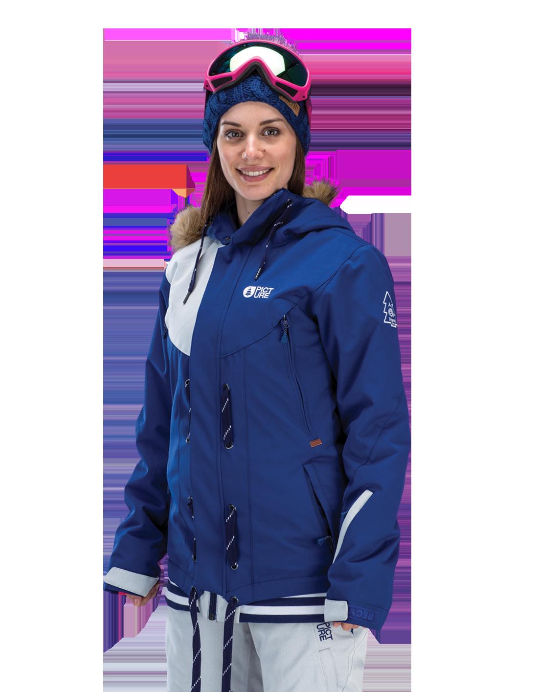 Купить Куртка сноубордическая Picture Organic 2015-16 COOLER 2 White Dark Blue Одежда 1219631