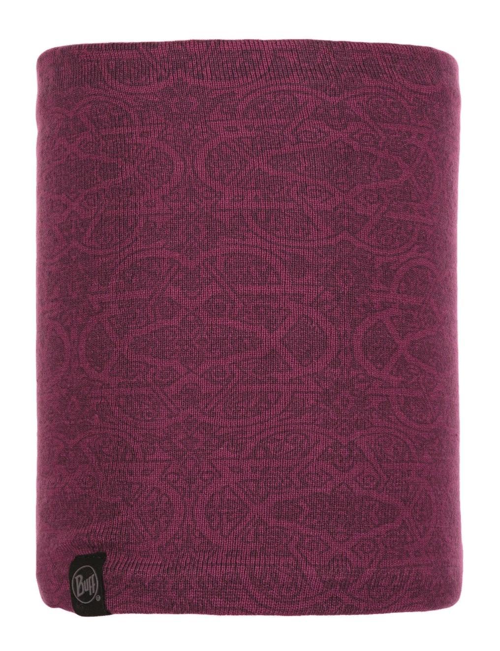 Шарф Buff Knitted & Polar Neckwarmer Greta Purple Raspberry