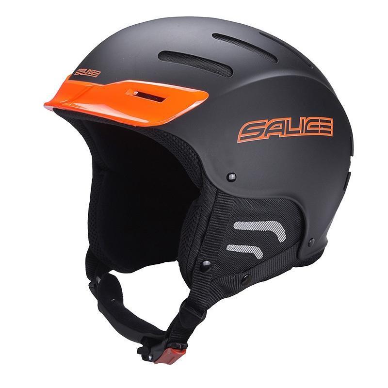 Зимний Шлем Salice Pipe Black-Orange