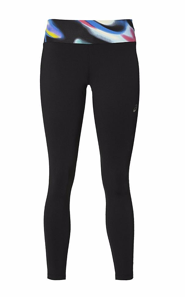 Купить Тайтсы 7/8 Беговые Asics 2017 Fuzex 7/8 Tight Черный, женский, Одежда для бега и фитнеса