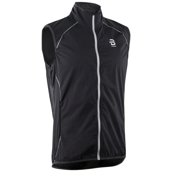 Купить Жилет Беговой Bjorn Daehlie 2018 Vest Spring Black, мужской, Одежда для бега и фитнеса