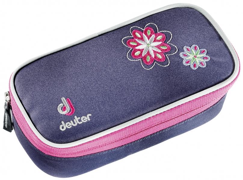 Купить Пенал Deuter 2016-17 Pencil Case blueberry-flower, Аксессуары, 1241386
