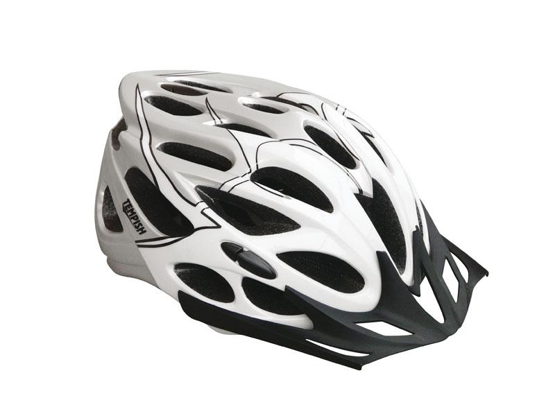 Летний шлем TEMPISH 2016 SAFETY Серебро, Шлемы велосипедные, 1178560  - купить со скидкой