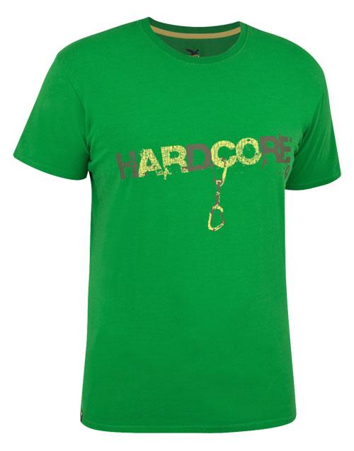 Купить Футболка для активного отдыха Salewa La Mano ARCORE CO M TEE eucalyptus (зеленый) Одежда туристическая 752274