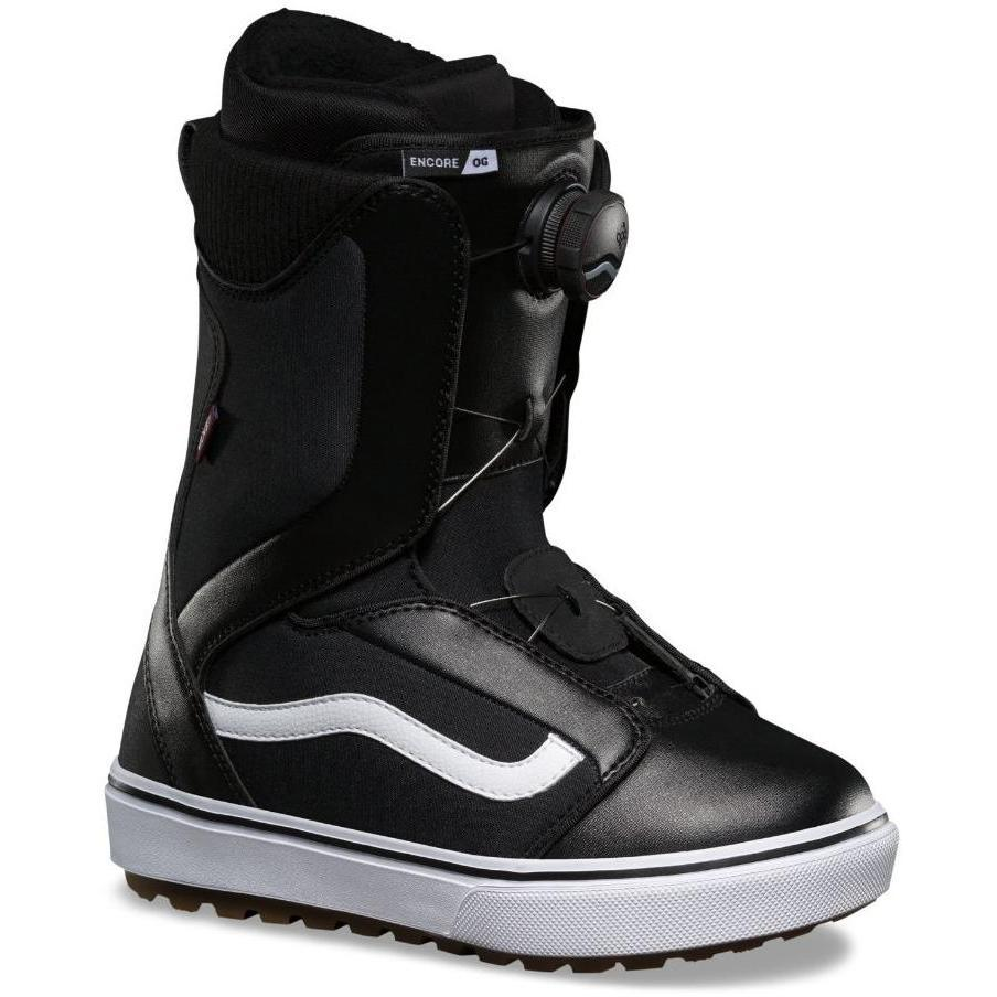 Ботинки для сноуборда VANS 2018-19 ENCORE OG Black White - купить ... a8915c81794