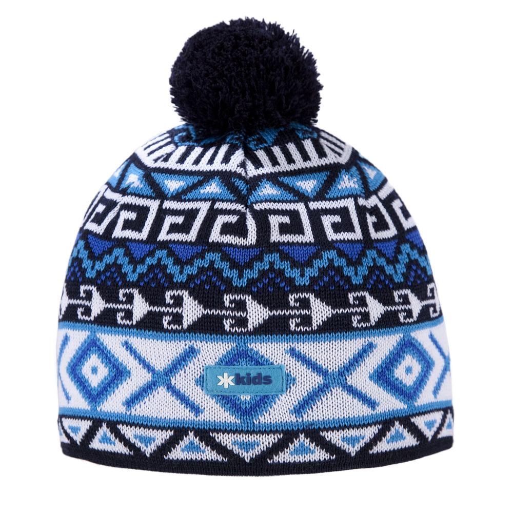 шапка kama для девочки, синяя