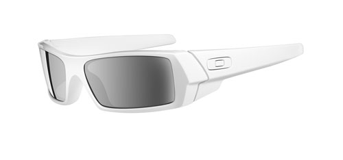 Очки солнцезащитные Oakley Gascan polished white-blk irid
