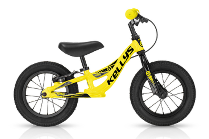 Велосипед Kellys KELLYS KITE 12 RACE жёлтый беговел 2016 Желтый Беговелы (для малышей) 1256474  - купить со скидкой