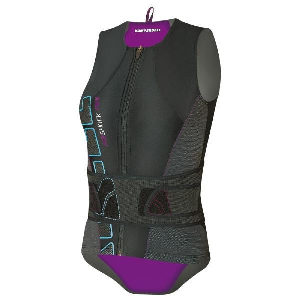 Купить Защитный жилет KOMPERDELL 2014-15 Airshock women Vest Women with Belt women, Защита, 1047317