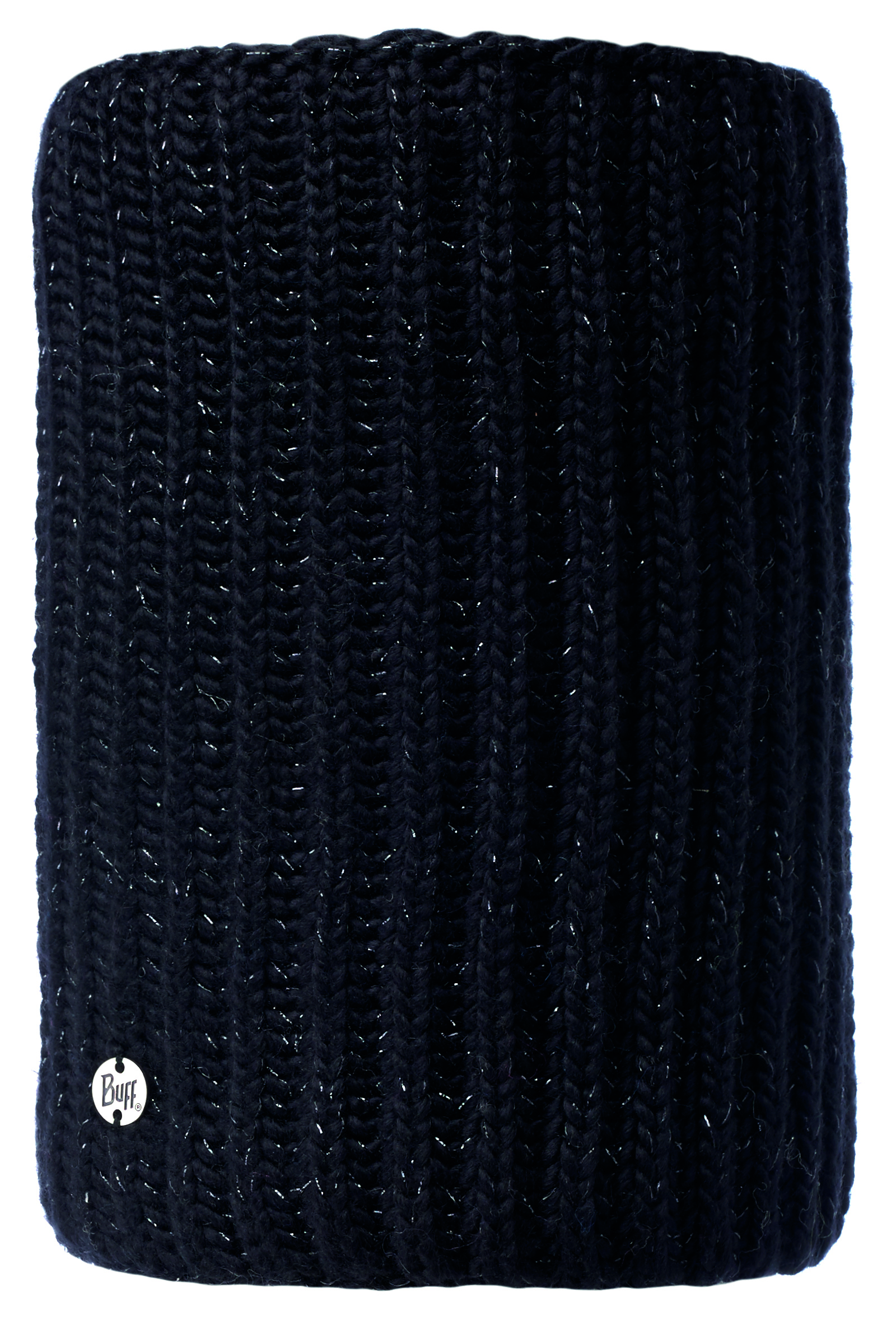 Шарф Buff Knitted & Polar Neckwarmer Glen Black Chic