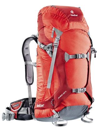 Купить Рюкзак Deuter Alpine Winter Rise 32+ fire-cranberry Рюкзаки туристические 1073366