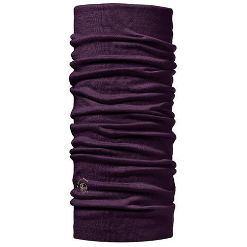 Купить Бандана BUFF MERINO WOOL SOLID PLUM, Банданы и шарфы Buff ®, 875923
