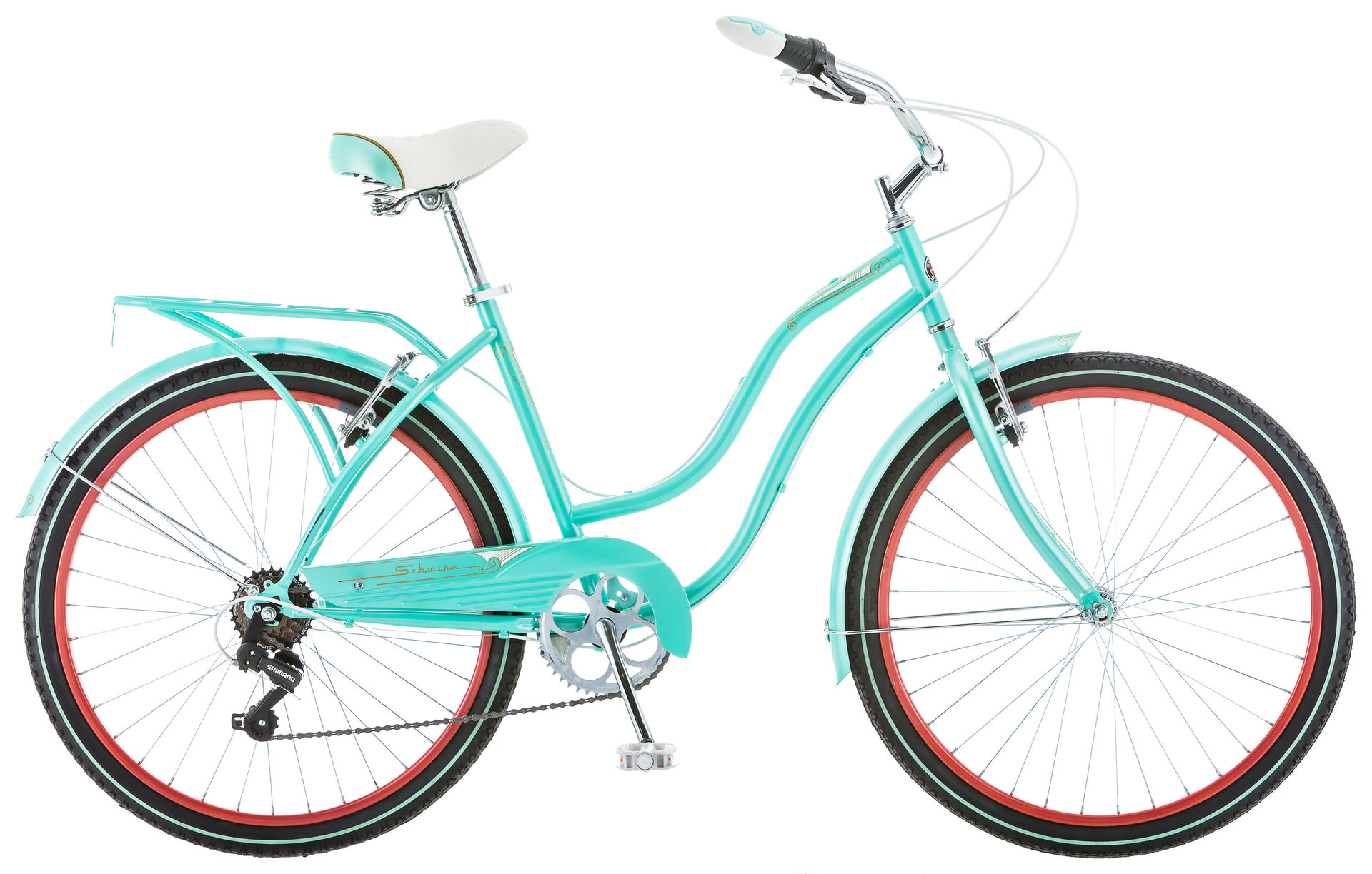 Велосипед Schwinn Perla 2018 Голубой