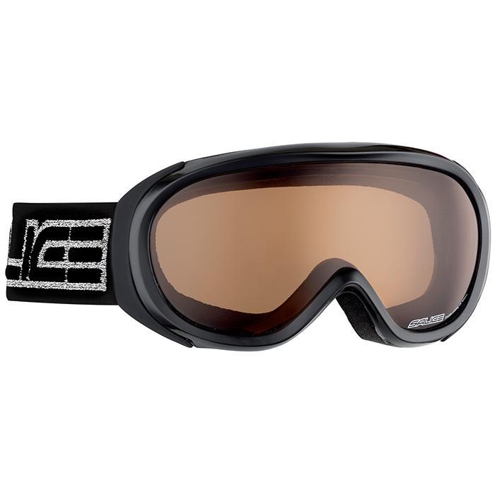 Купить Очки горнолыжные Salice 804DAF BLACK/BROWN, горнолыжные, 846106