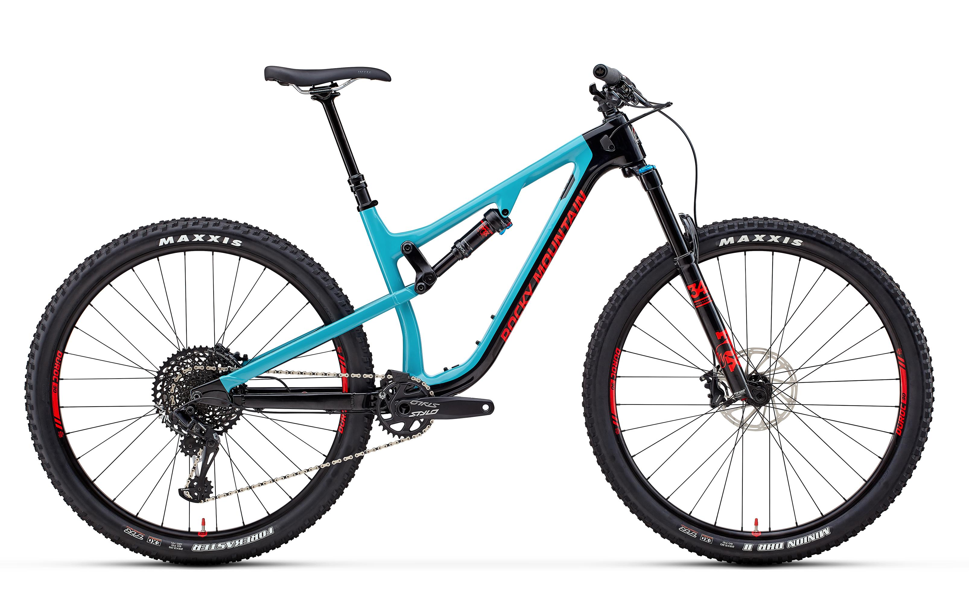 Велосипед Rocky Mountain Instinct Carbon 50 2018 Black/blue