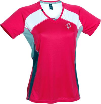 Купить Футболка беговая Bjorn Daehlie T-shirt TRAIL Women (Bright Rose/Limestone) малиновый/св. серый Одежда для бега и фитнеса 669766