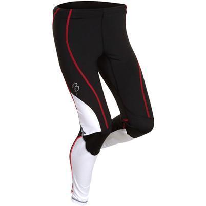 Купить Брюки беговые Bjorn Daehlie Tights CHALLENGER Women (Black/Bright White/Bright Rose) черный/белый/красный Одежда для бега и фитнеса 669560