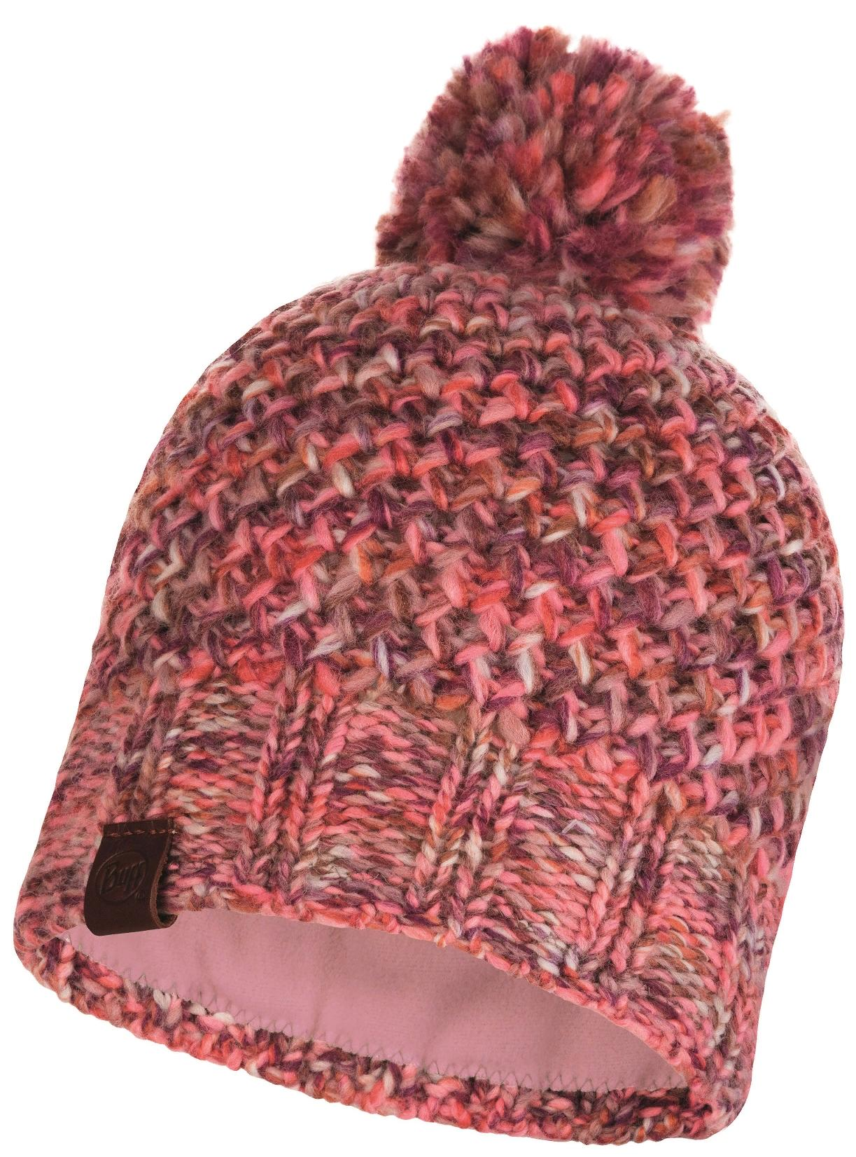 Шапка Buff Knitted & Polar Hat Margo Flamingo Pink