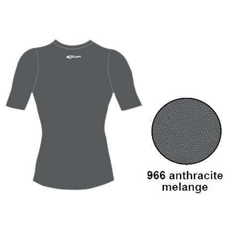 Футболка ACCAPI SHORT SL.T-SHIRT LADY (anthracite) серый